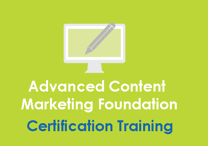 Advanced Content Marketing Foundation